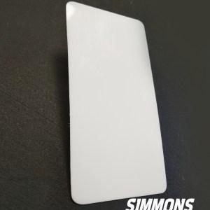goalie blocker board replacement plastic