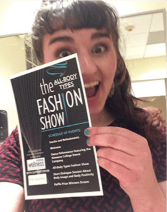 Excited for the fashion show!