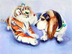 Staring Down the Tiger (#1). Source: Trustman Art Gallery website