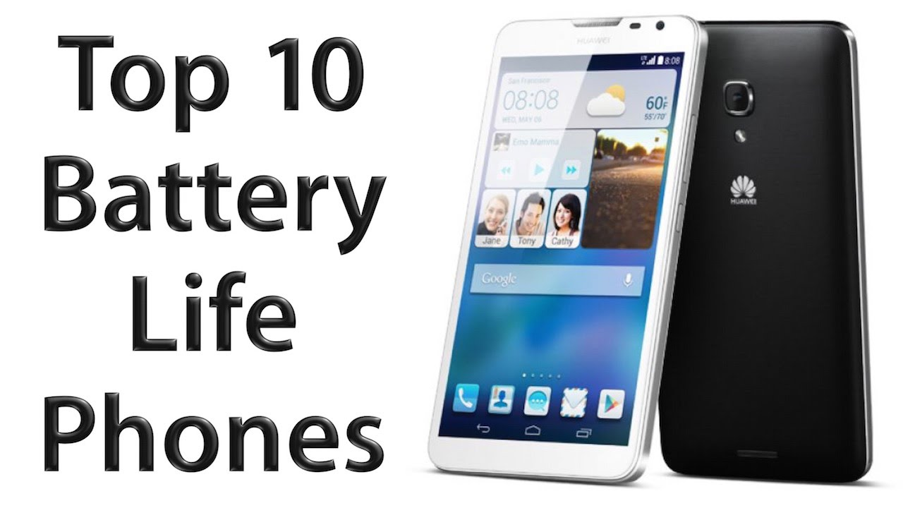 10 Best Smartphones With Longest Battery Life (2016)