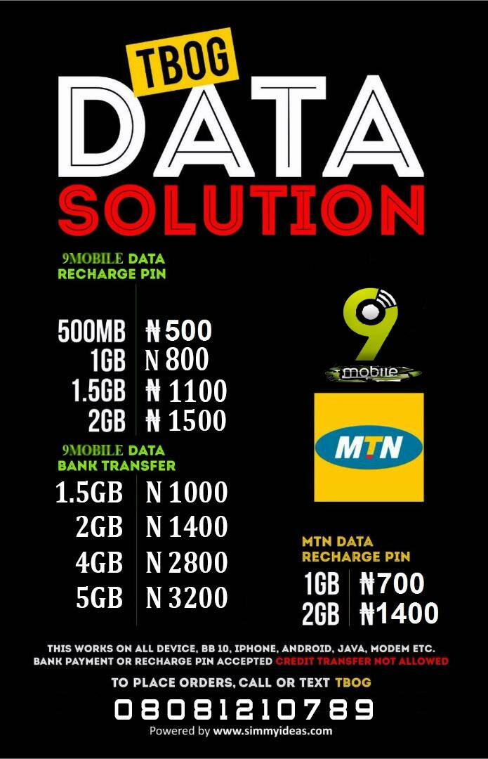 TBOG Data Solution