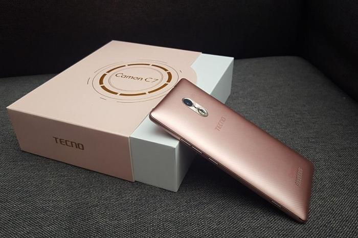 Tecno Camon C7 a Fantastic Smartphone with an Excellent 13MP Front Camera