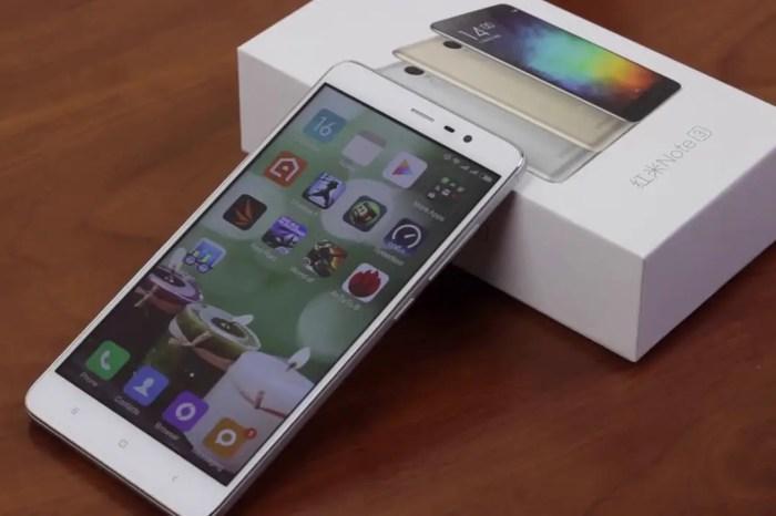 Xiaomi Redmi Note 3 with 5.5 Inch FHD 3GB 32GB, Fingerprint Sensor