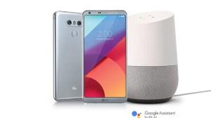 LG G6 Free Google Home