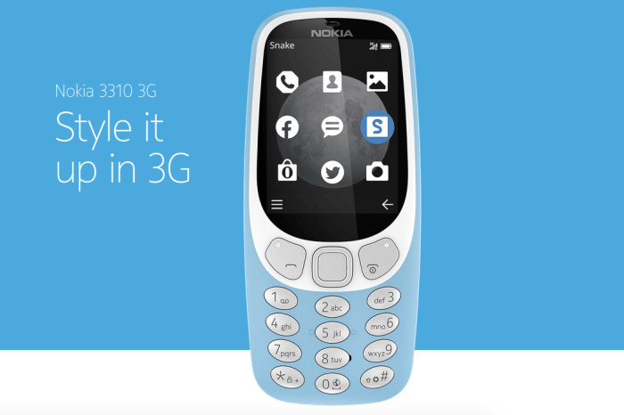 Nokia 3310 3G: Nokia relaunched its remade 3310 with 3G internet for first time