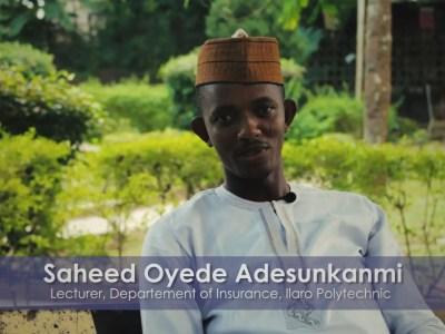 Insurance Expert, Saheed Oyede