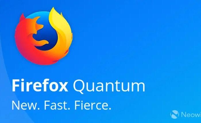 Downalaod for Free Mozilla Firefox Quantum 57.0 Final for Windows, Linux & Mac