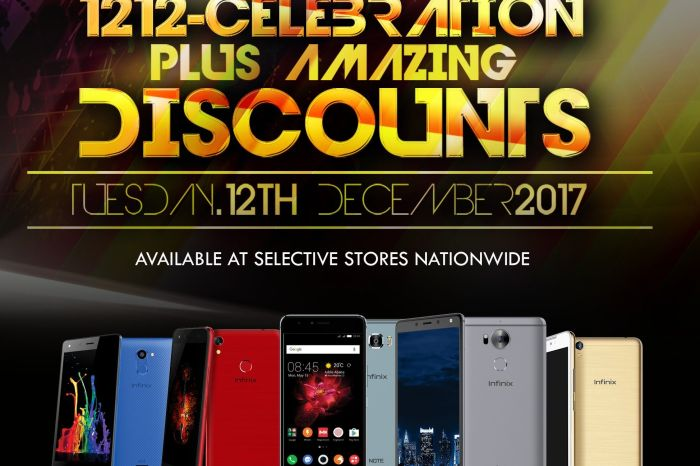 Infinix 1212 Celebration - All about Discounts, Free tickets to Davido's 30 Billion Concert and Infinix Fans party.