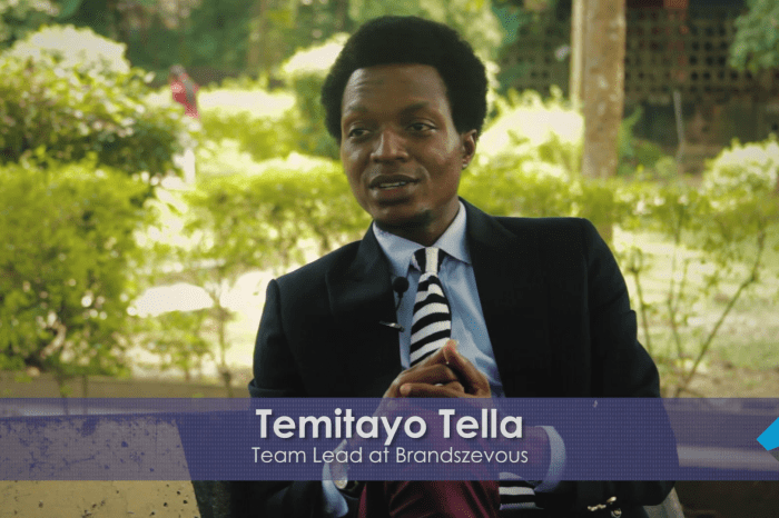 Temitayo Tella Speaks on Fashion and How To Promote Your Brand Using Social Media