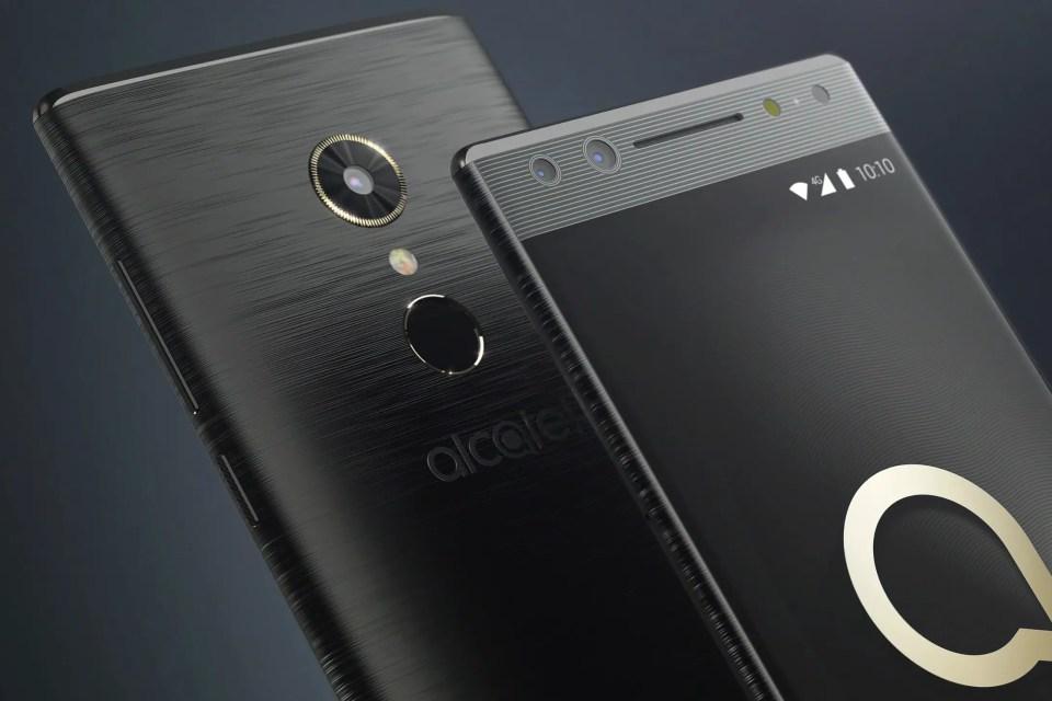 Alcatel 5 Striking edge-to-edge, Mid-range looks into affordable device