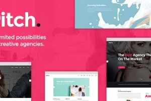 free Pitch WordPress theme