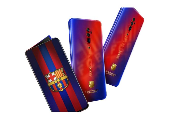 Oppo Reno 10X Zoom FC Barcelona Edition - Here is the Special Edition