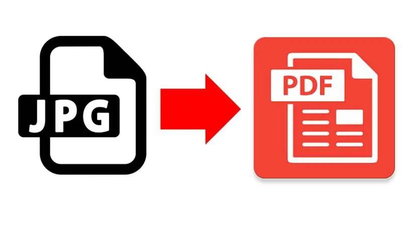 JPG to a PDF