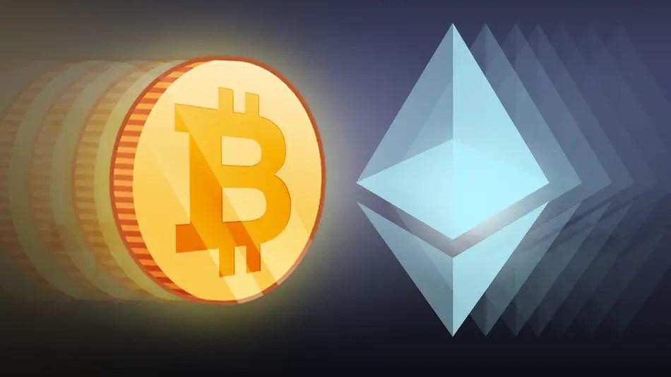 Ethereum vs Bitcoin Cryptocurrency