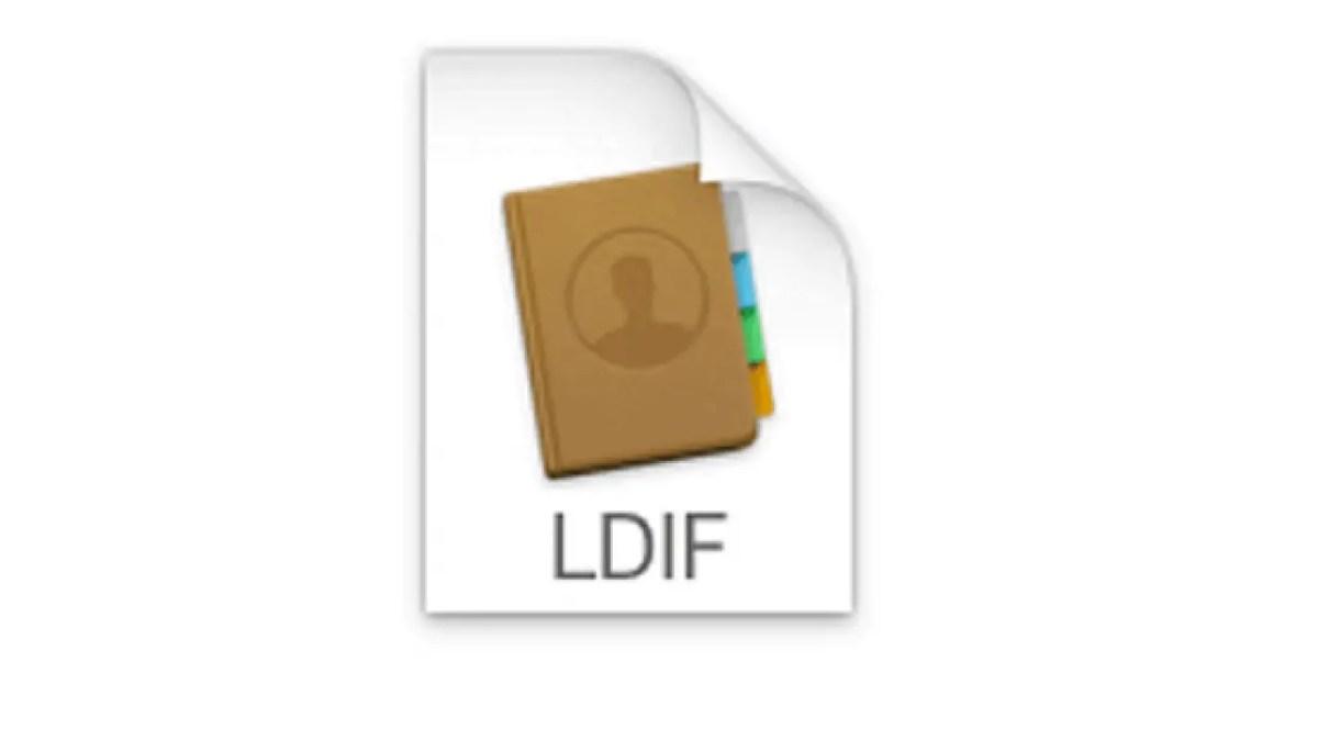 LDIF File