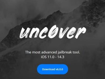 iOS 14 – iOS 14.3 Using Unc0ver