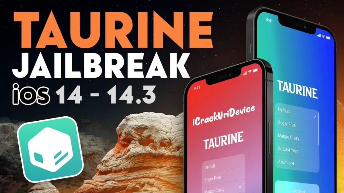 iOS 14.3 Using Taurine Jailbreak