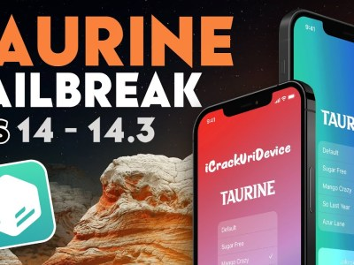 iOS 14.3 Using Taurine Jailbreak