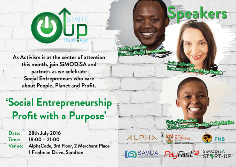 SIMODISA Start-Up Invite July 2016