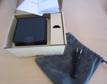 Bluetooth Lautsprecher samt Verpackung