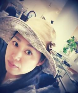 リバティーブリント帽子