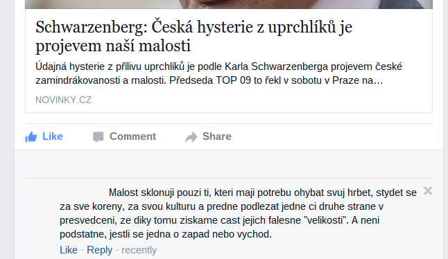 Česká malost