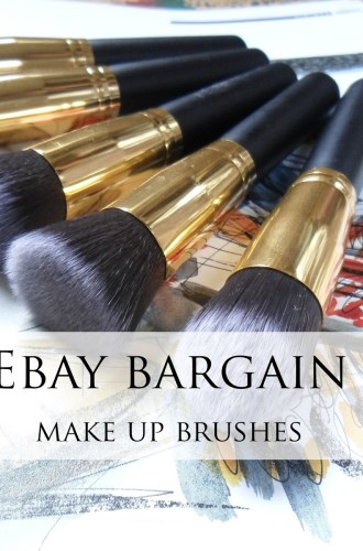 EBAY BARGAIN | MAKE UP BRUSHES