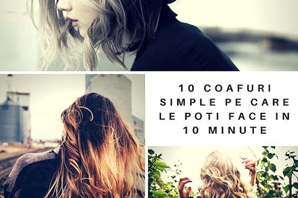10 Coafuri Simple Pe Care Le Poti Face In Doar 10 Minute Simona Giosu