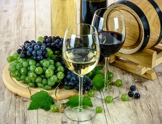 vin alb si vin rosu