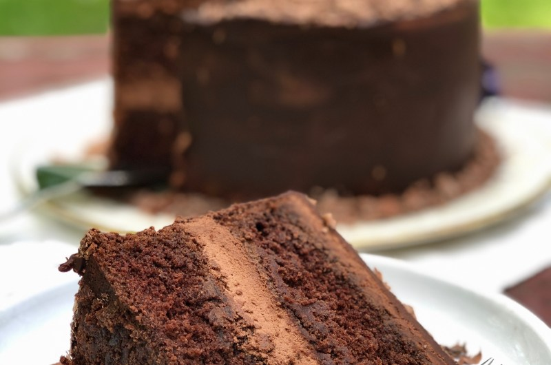 Gluten-free Chocolate Hazelnut Cake
