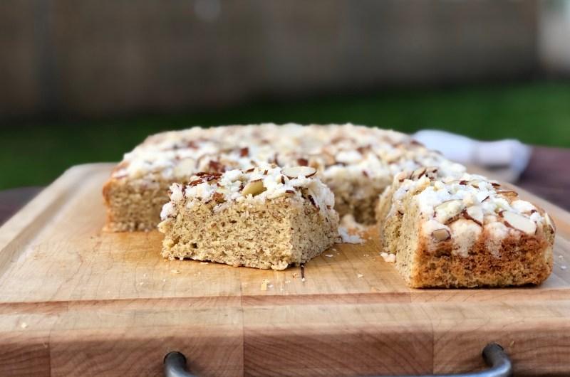 Gluten-free Almond Coffee Cake