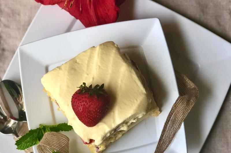 Gluten-free Berry Tiramisu