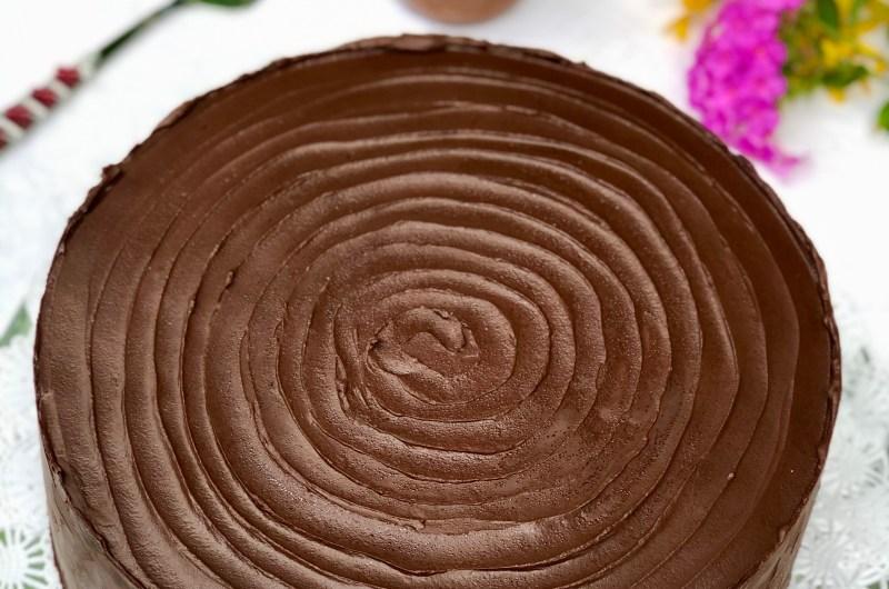 Gluten-free Candy Bar Cake