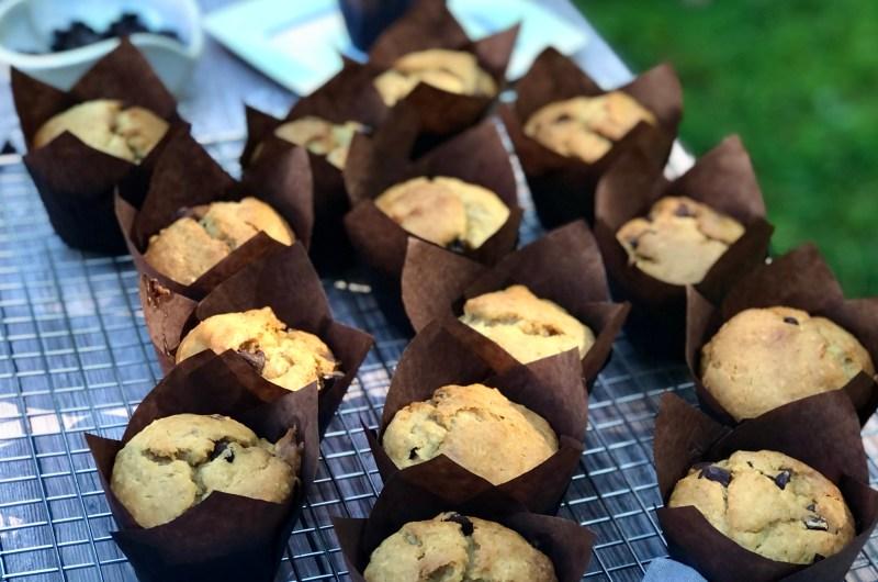 Gluten-free Banana Chocolate Coconut Muffins