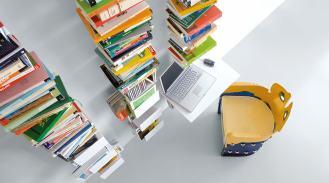 libreria-design-a-parete-aluminium-wall-sololibrerie-it