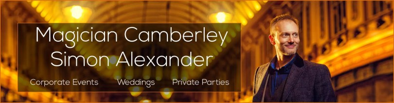 Magician in Camberley Banner