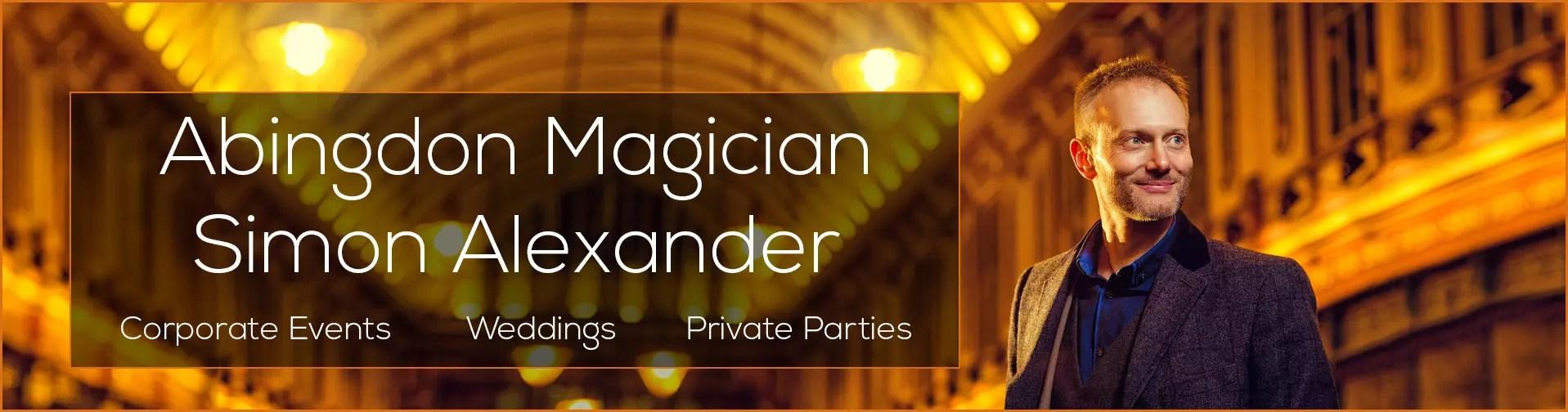 Magician in Abingdon Banner