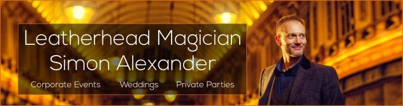 Magician in Leatherhead Banner