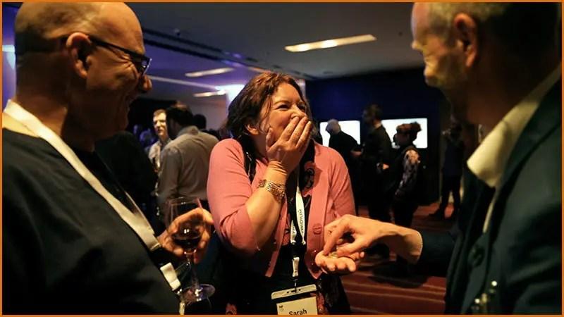 Berkshire Magician Performs Close-Up Magic At Corporate Event