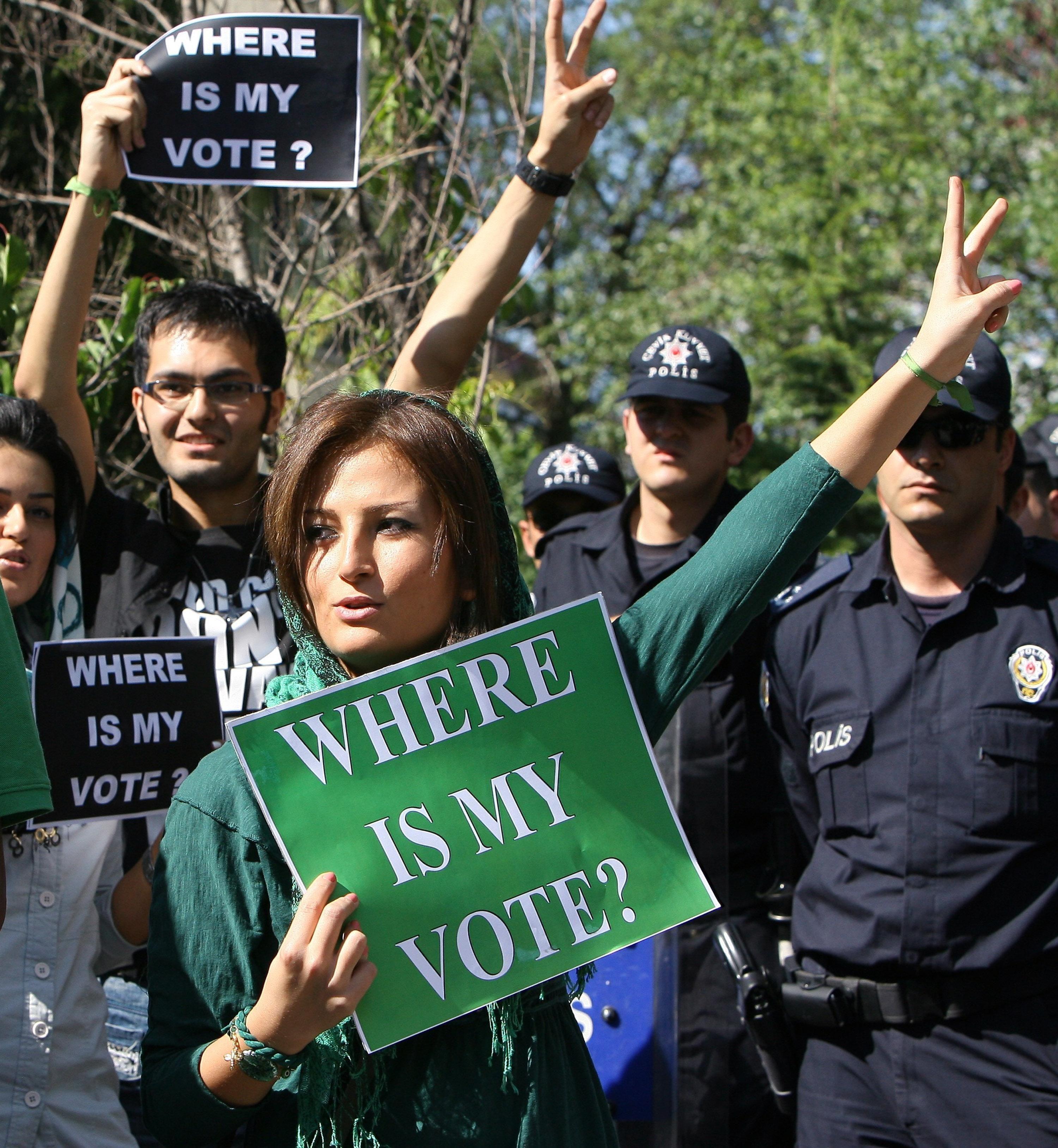 Iran protesta studentesca