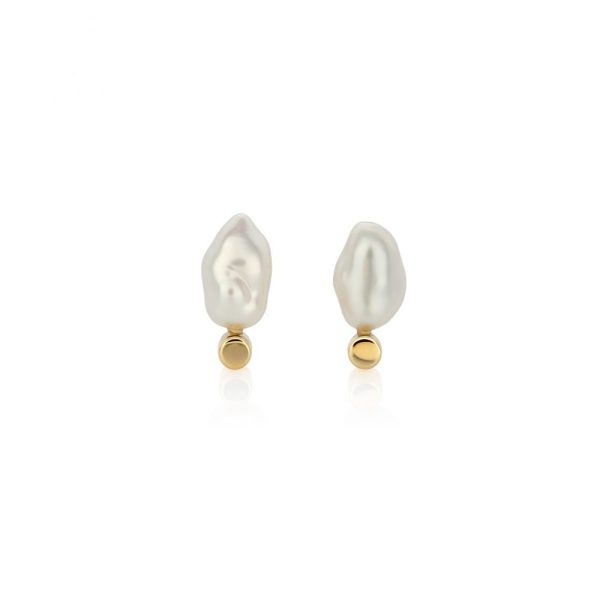 South Sea Keshi Pearl Earrings
