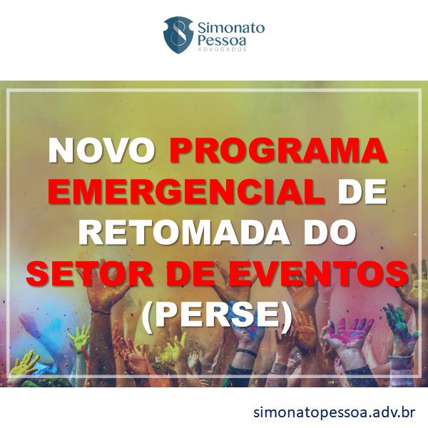 Programa Emergencial de Retomada do Setor de Eventos (Perse)