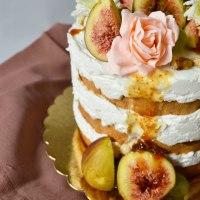 Торта с мед и смокини