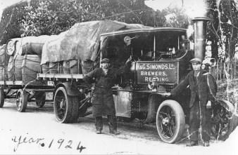 1924 Steam dray