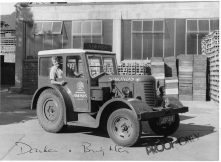 1955 Reading lorry tractor
