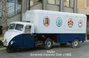 1965 Farsons Malta van, restored