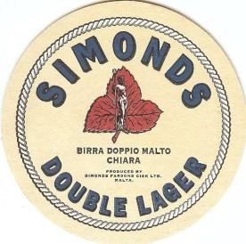 Beermat Double Lager