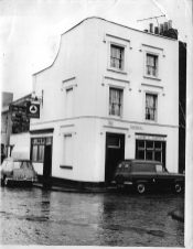Portwall Lane, The Globe Foresters c1960