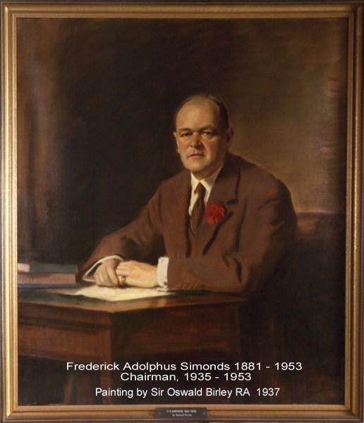 Simonds FA 1937 Chairman