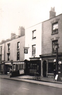 Easton Road, Lord Chancellor. demolished early 1960's.